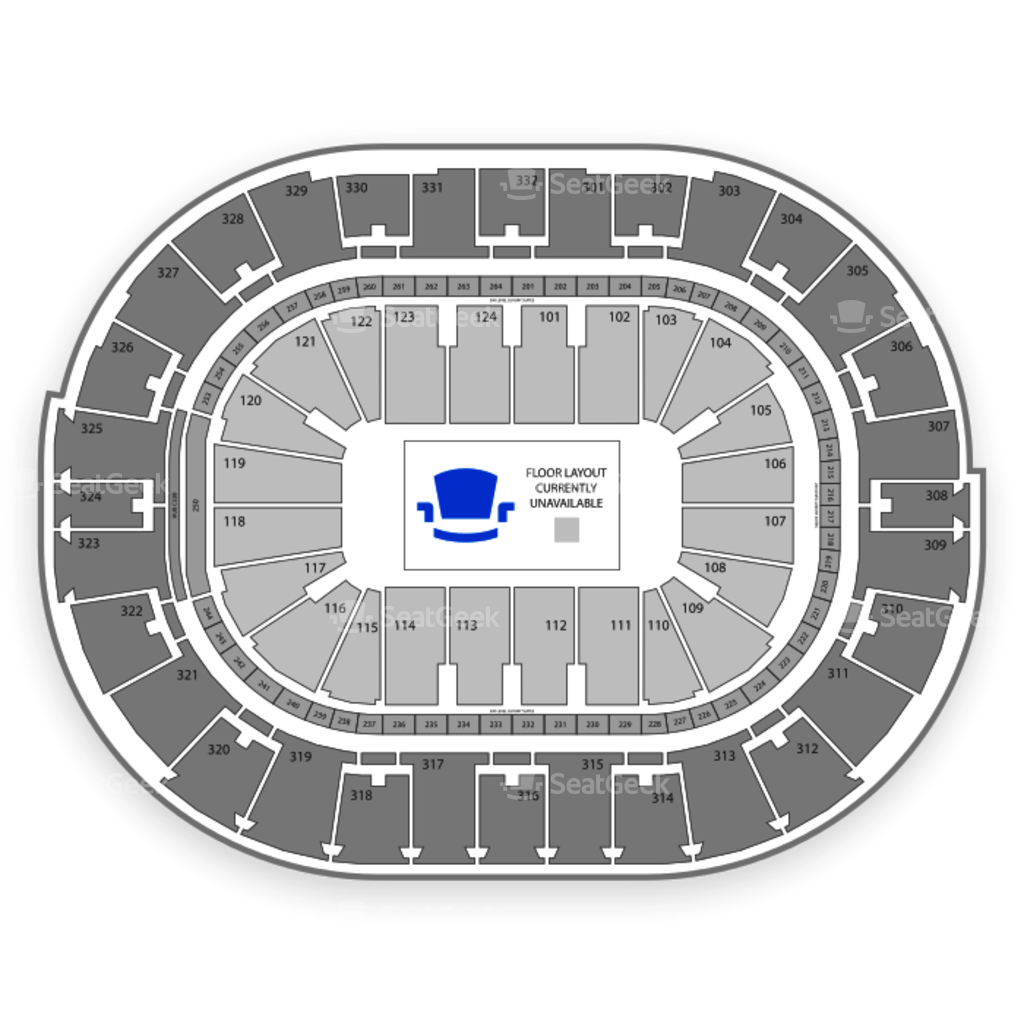 New orleans pelicans seating chart interactive map seatgeek