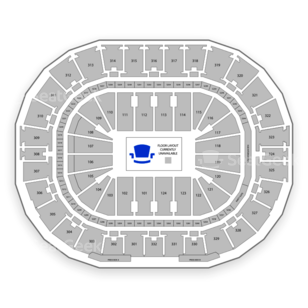 Smoothie King Center Seating Chart Parking