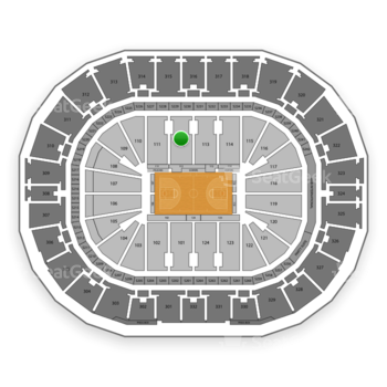 New Orleans Pelicans at Smoothie King Center Section 112 View