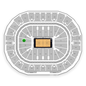 New Orleans Pelicans at Smoothie King Center Section 107 View