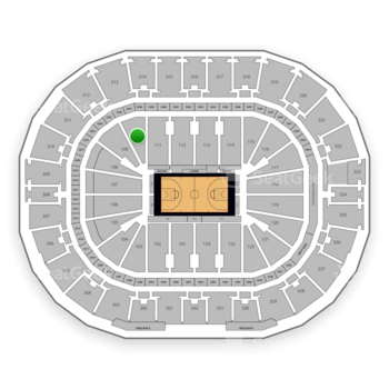New Orleans Pelicans at Smoothie King Center Section 110 View