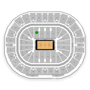 New Orleans Pelicans at Smoothie King Center Section 111 View