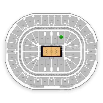 New Orleans Pelicans at Smoothie King Center Section 114 View