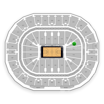 New Orleans Pelicans at Smoothie King Center Section 117 View