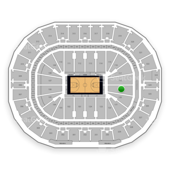 New Orleans Pelicans at Smoothie King Center Section 119 View