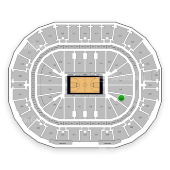 New Orleans Pelicans at Smoothie King Center Section 120 View