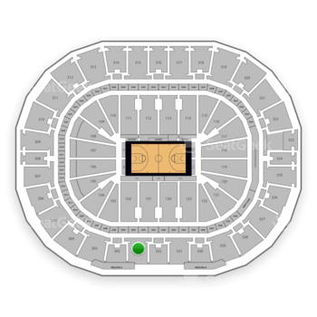 New Orleans Pelicans at Smoothie King Center Section 301 View