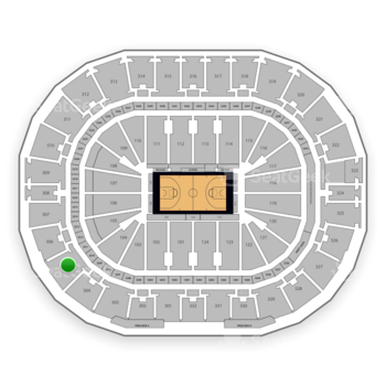 New Orleans Pelicans at Smoothie King Center Section 305 View