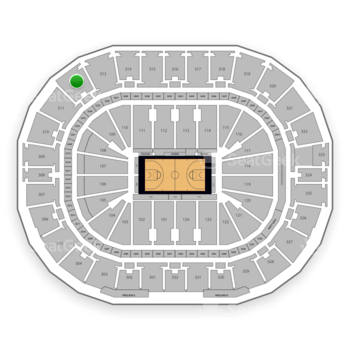 New Orleans Pelicans at Smoothie King Center Section 312 View