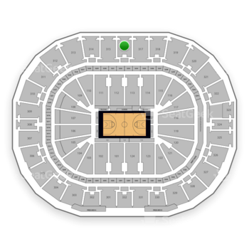 New Orleans Pelicans at Smoothie King Center Section 316 View