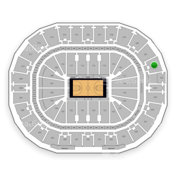 New Orleans Pelicans at Smoothie King Center Section 322 View