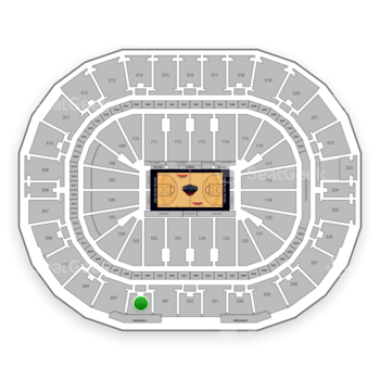 New Orleans Pelicans at Smoothie King Center Section 302 View
