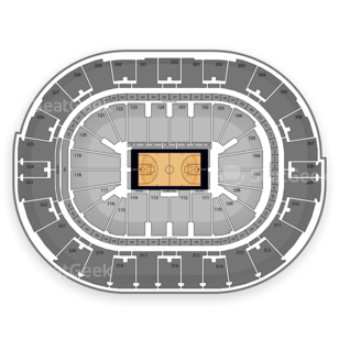 NBA All Star Saturday Night Seating Chart