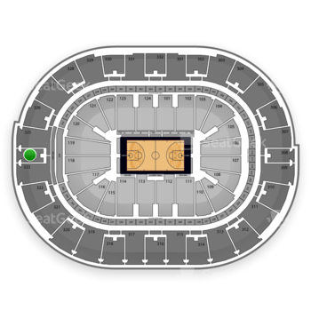 NBA All Star Game at Smoothie King Center Section 324 View