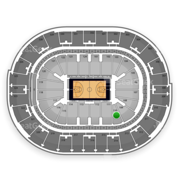 NBA All Star Saturday Night at Smoothie King Center Section 110 View