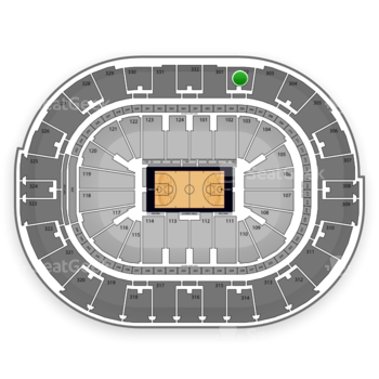 NBA All Star Saturday Night at Smoothie King Center Section 302 View