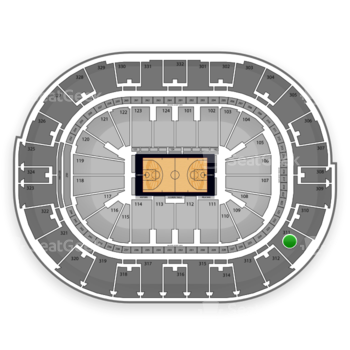 NBA All Star Saturday Night at Smoothie King Center Section 311 View