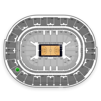 NBA All Star Saturday Night at Smoothie King Center Section 321 View