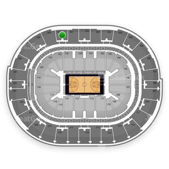 NBA All Star Saturday Night at Smoothie King Center Section 330 View