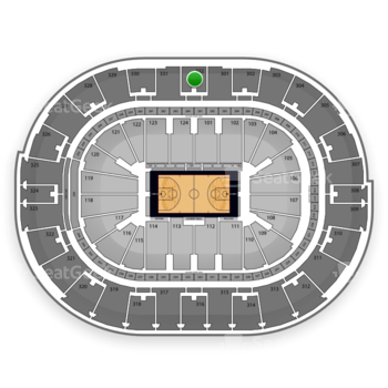 NBA All Star Saturday Night at Smoothie King Center Section 332 View