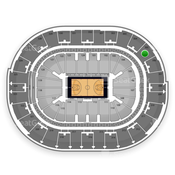 NBA at Smoothie King Center Section 305 View
