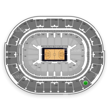 NBA at Smoothie King Center Section 312 View