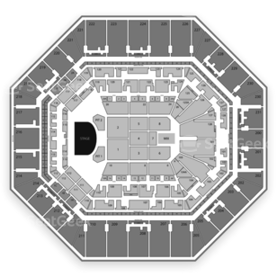 AT&T Center Seating Chart Concert