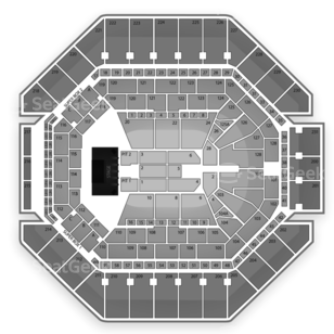 AT&T Center Seating Chart Wrestling