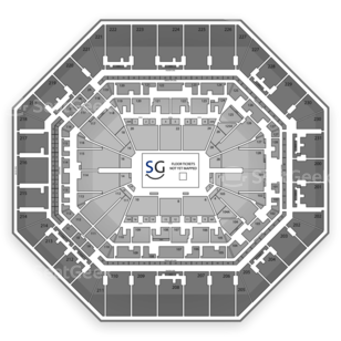 AT&T Center Seating Chart Music Festival