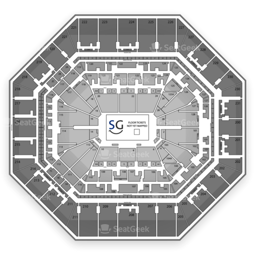 AT&T Center Seating Chart NCAA Basketball