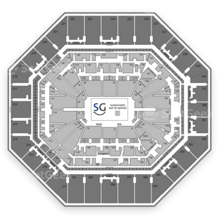 AT&T Center Seating Chart Boxing