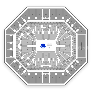 AT&T Center Seating Chart Classical