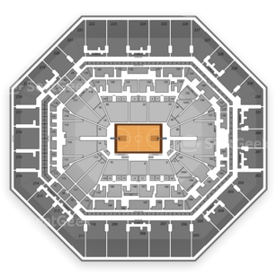 San Antonio Spurs Seating Chart