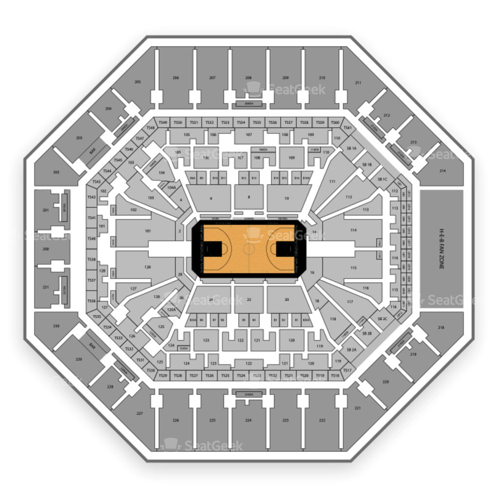 At T Center Section 111 Seat Views Seatgeek