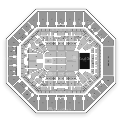 AT&T Center Seating Chart & Map | SeatGeek