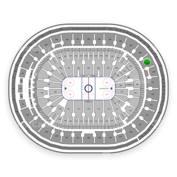 St Louis Blues at Scottrade Center Section 309 View