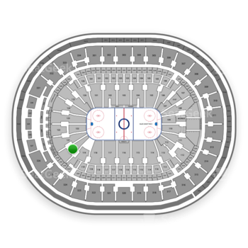 St. Louis Blues at Scottrade Center Section 120 View