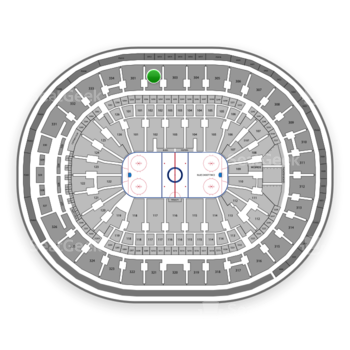 St. Louis Blues at Scottrade Center Section 302 View