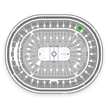 St Louis Blues at Scottrade Center Section 307 View
