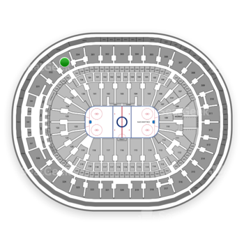 St. Louis Blues at Scottrade Center Section 333 View
