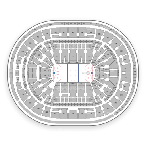 St. Louis Blues Seating Chart & Map | SeatGeek on