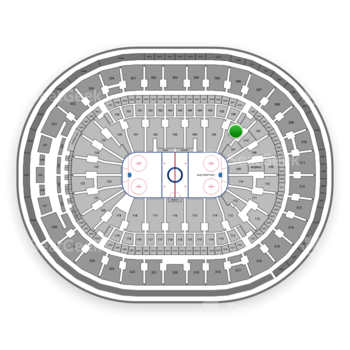 St Louis Blues at Scottrade Center Section 106 View