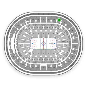 St Louis Blues at Scottrade Center Section 306 View