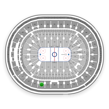St Louis Blues at Scottrade Center Section 322 View