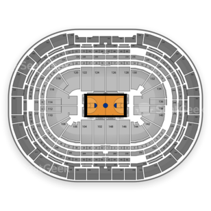 Pepsi Center Seating Chart NCAA Basketball