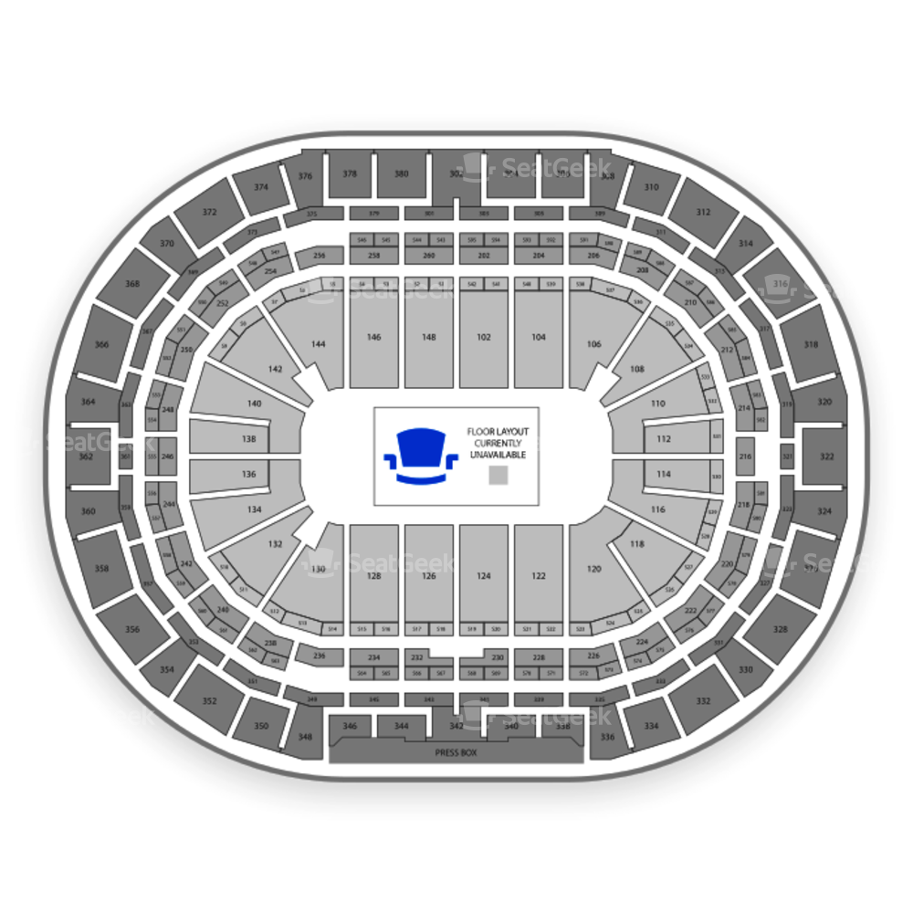 Pepsi Center Seating Chart Parking