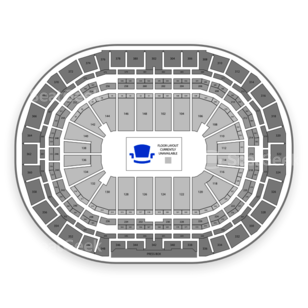 Pepsi Center Seating Chart MMA