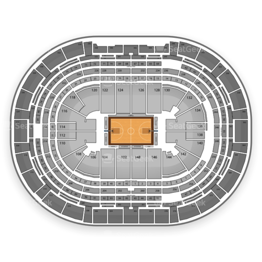 Denver Nuggets Seating Chart & Interactive Map