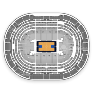 NCAA Men's Basketball Tournament Seating Chart