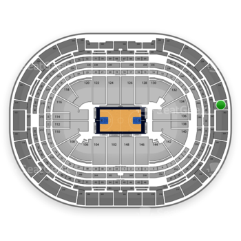 Denver Nuggets at Pepsi Center Section 360 View